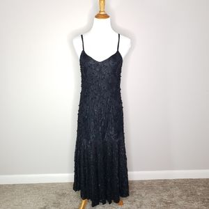 Vintage Swee Lo Hand Beaded Cocktail Dress